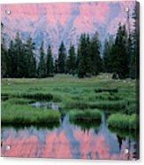 Usa, Utah, High Uintas Wilderness Acrylic Print