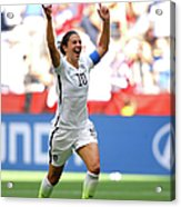 Usa V Japan Final - Fifa Womens World Acrylic Print