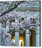 Usa, Washington Dc, Jefferson Memorial Acrylic Print