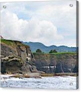 Usa Washington State Sea Kayakers Acrylic Print