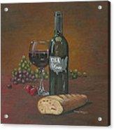 Usa Wine Acrylic Print