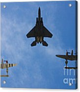 Usaf Heritage Flight Acrylic Print