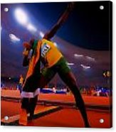 Usain Bolt Number One Acrylic Print