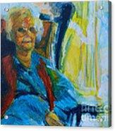 Use 2b So Ez - Alzheimer's Perch - The Long Good-bye Acrylic Print
