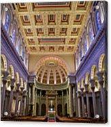 Usf Saint Ignatius Church In San Francisco Acrylic Print
