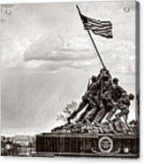 Usmc War Memorial And National Mall Acrylic Print