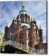 Uspenski Church Acrylic Print