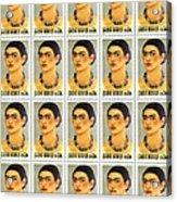 Usps  Frida Kahlo Acrylic Print