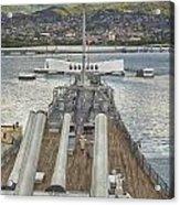 Uss Arizona Memorial-pearl Harbor V4 Acrylic Print