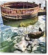 Uss Arizona Memorial- Pearl Harbor V7 Acrylic Print