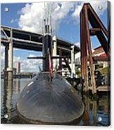 Uss Blue Back Submarine Acrylic Print