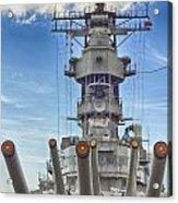 Uss Missouri-pearl Harbor Hawaii Acrylic Print