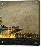 Uss Yorktown Cv10 Acrylic Print