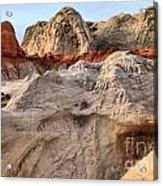 Utah Badlands Acrylic Print