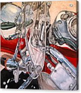 Utah Chrome Acrylic Print