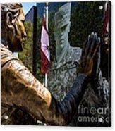 Utah Freedom Memorial Acrylic Print