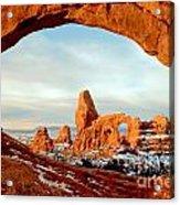 Utah Golden Arches Acrylic Print