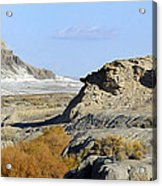 Utah Outback 42 Panoramic Acrylic Print by Mike McGlothlen