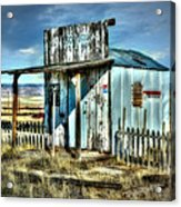 Utah Post Office Acrylic Print