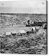 Utah Railroad, 1869 Acrylic Print