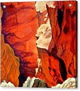 Utah Rocks Acrylic Print