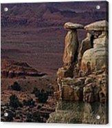 Utah Sentry Acrylic Print