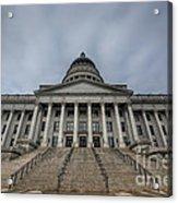 Utah State Capitol Building Acrylic Print