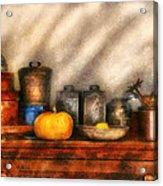 Utensils - Kitchen Still Life Acrylic Print by Mike Savad