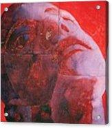 Uv Head Acrylic Print