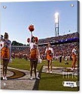 Uva Cheerleaders Acrylic Print