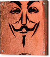 V For Vendetta Acrylic Print