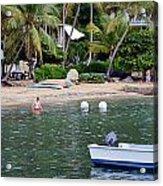 Vacation Acrylic Print by    Michael Glenn