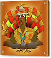 Vacation Turkey Illustration Acrylic Print
