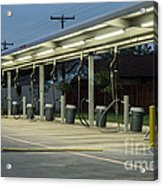 Vacuums At Car Wash Acrylic Print
