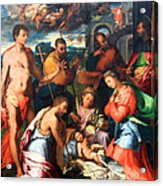 Vaga's The Nativity Acrylic Print