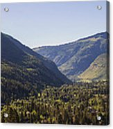 Vail In Summer Acrylic Print