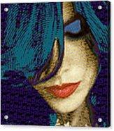 Vain 2 Acrylic Print by Tony Rubino