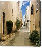 Valbonne - History And Charm  Acrylic Print by Christine Till