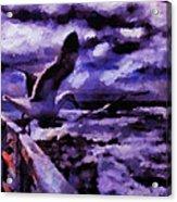 Valencia On Deck  Acrylic Print