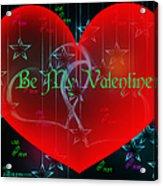 Valentine 4 Acrylic Print