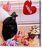 Valentine Be Mine Acrylic Print