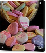Valentine Candy 5 Acrylic Print