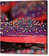 Valentine Treats Scratch Made Acrylic Print