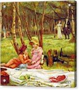 Valentines Day, 1883 Acrylic Print
