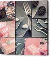 Valentine's Day  Collage Acrylic Print
