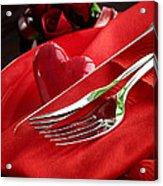 Valentine's Day Dinner Acrylic Print