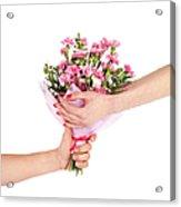 Valentine's Day Gift Acrylic Print