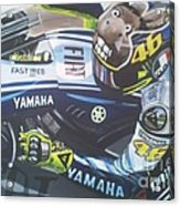 Valentino Rossi - The Doctor Acrylic Print