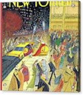 New Yorker November 16th, 1992 Acrylic Print
