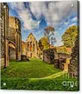 Valle Crucis Abbey Ruins Acrylic Print